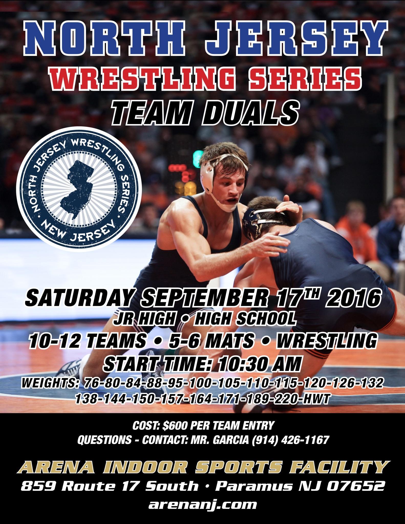 Great Preseason Wrestling Opportunity – SECTION 9 WRESTLING